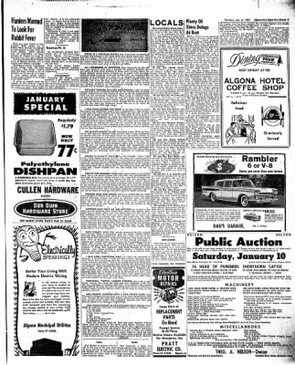 The Algona Upper Des Moines from Algona, Iowa on January 8, 1959 · Page 15