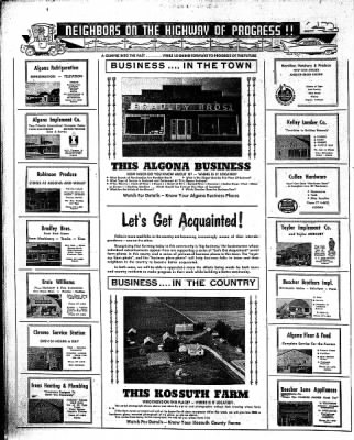 The Algona Upper Des Moines from Algona, Iowa on January 8, 1959 · Page 18