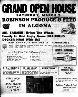 The Algona Upper Des Moines from Algona, Iowa on March 5, 1959 · Page 24