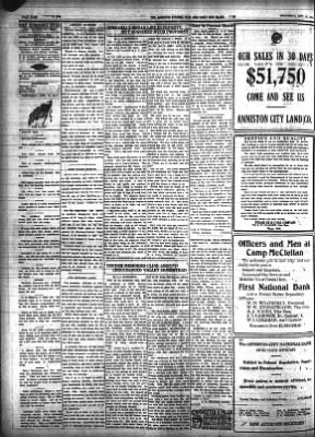 The Anniston Star From Anniston Alabama On September 12 1917 Page 4