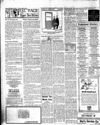 The Algona Upper Des Moines from Algona, Iowa on April 23, 1959 · Page 18