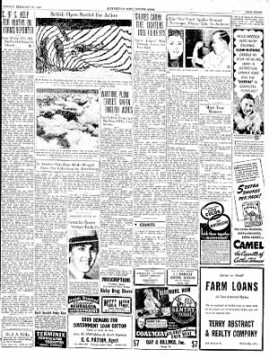 The Courier News from Blytheville, Arkansas on February 19, 1940 · Page 3