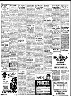 The Daily Mail from Hagerstown, Maryland on September 3, 1946 · Page 2