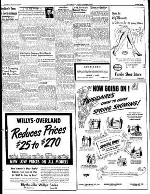 The Courier News from Blytheville, Arkansas on March 22, 1949 · Page 5