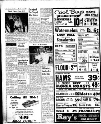 The Algona Upper Des Moines from Algona, Iowa on July 9, 1959 · Page 4