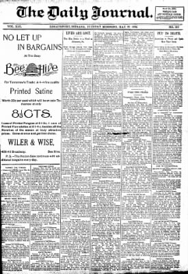 Logansport Pharos-Tribune from Logansport, Indiana on May 22, 1894 · Page 1