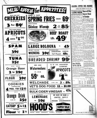The Algona Upper Des Moines from Algona, Iowa on July 23, 1959 · Page 9
