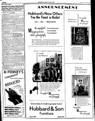 The Courier News from Blytheville, Arkansas on March 22, 1949 · Page 6