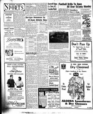 The Algona Upper Des Moines from Algona, Iowa on August 20, 1959 · Page 8