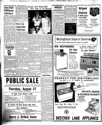 The Algona Upper Des Moines from Algona, Iowa on August 20, 1959 · Page 20