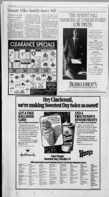 The Cincinnati Enquirer from Cincinnati, Ohio on October 3, 1991 · Page 4