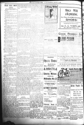 The Daily Deadwood Pioneer-Times from Deadwood, South Dakota on March 19, 1899 · Page 4