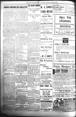 The Daily Deadwood Pioneer-Times from Deadwood, South Dakota on March 29, 1899 · Page 4