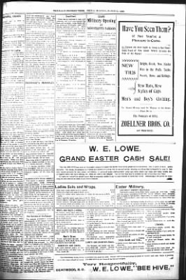 The Daily Deadwood Pioneer-Times from Deadwood, South Dakota on March 31, 1899 · Page 5