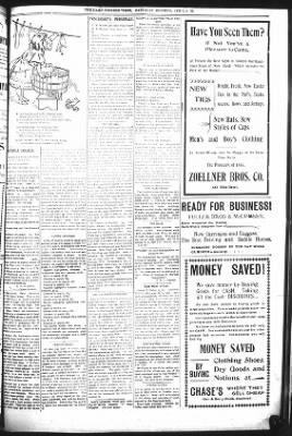The Daily Deadwood Pioneer-Times from Deadwood, South Dakota on April 8, 1899 · Page 5