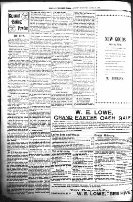 The Daily Deadwood Pioneer-Times from Deadwood, South Dakota on April 9, 1899 · Page 8