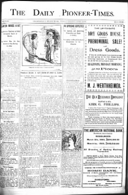 The Daily Deadwood Pioneer-Times from Deadwood, South Dakota on April 11, 1899 · Page 1