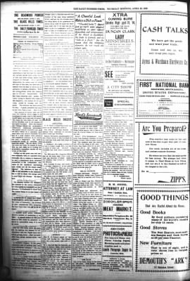 The Daily Deadwood Pioneer-Times from Deadwood, South Dakota on April 20, 1899 · Page 2