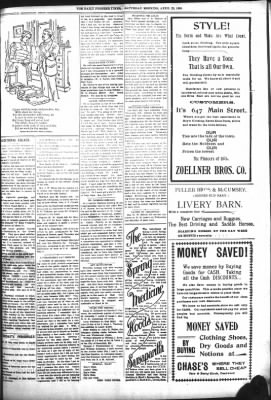 The Daily Deadwood Pioneer-Times from Deadwood, South Dakota on April 22, 1899 · Page 5