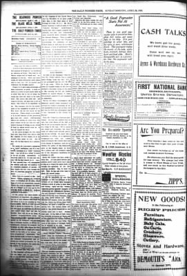 The Daily Deadwood Pioneer-Times from Deadwood, South Dakota on April 30, 1899 · Page 2