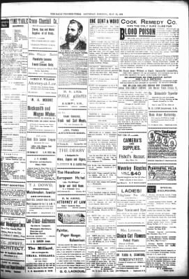 The Daily Deadwood Pioneer-Times from Deadwood, South Dakota on May 13, 1899 · Page 3