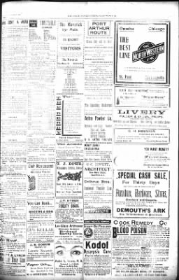 The Daily Deadwood Pioneer-Times from Deadwood, South Dakota on October 2, 1900 · Page 3