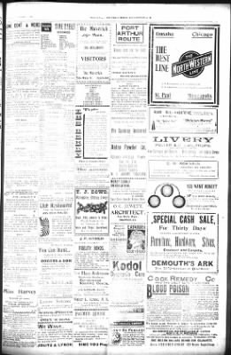 The Daily Deadwood Pioneer-Times from Deadwood, South Dakota on October 4, 1900 · Page 3