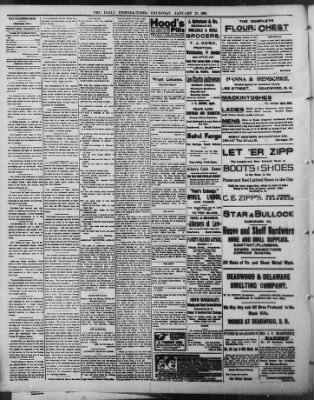 The Daily Deadwood Pioneer-Times from Deadwood, South Dakota on January 27, 1898 · Page 2