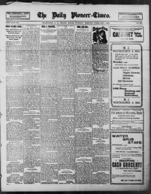 The Daily Deadwood Pioneer-Times from Deadwood, South Dakota on February 1, 1898 · Page 1