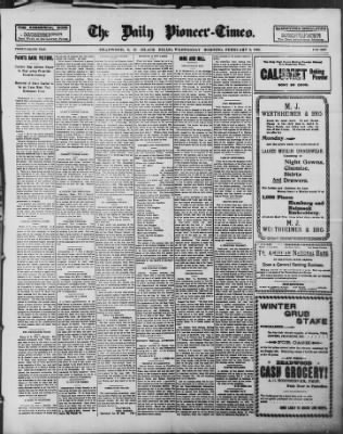 The Daily Deadwood Pioneer-Times from Deadwood, South Dakota on February 2, 1898 · Page 1