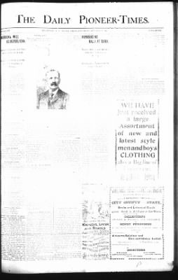 The Daily Deadwood Pioneer-Times from Deadwood, South Dakota on October 13, 1900 · Page 1