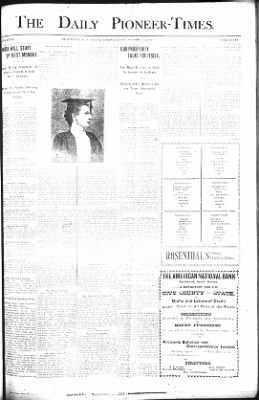 The Daily Deadwood Pioneer-Times from Deadwood, South Dakota on October 19, 1900 · Page 1
