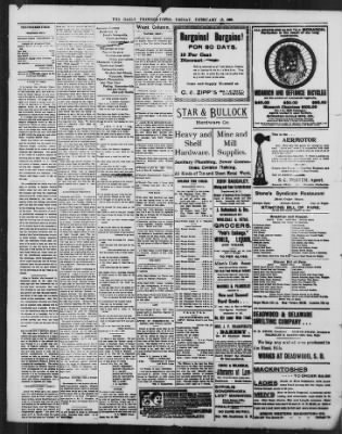The Daily Deadwood Pioneer-Times from Deadwood, South Dakota on February 18, 1898 · Page 2