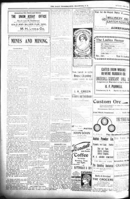 The Daily Deadwood Pioneer-Times from Deadwood, South Dakota on April 7, 1900 · Page 4