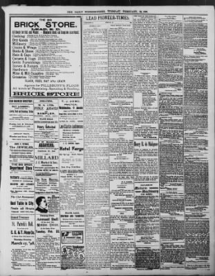The Daily Deadwood Pioneer-Times from Deadwood, South Dakota on February 22, 1898 · Page 3