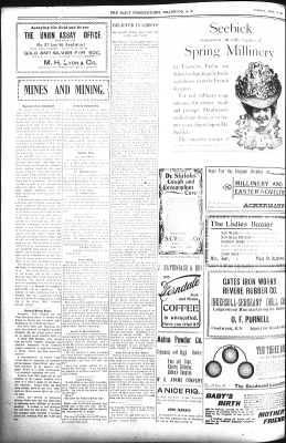The Daily Deadwood Pioneer-Times from Deadwood, South Dakota on April 10, 1900 · Page 4