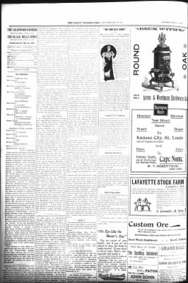 The Daily Deadwood Pioneer-Times from Deadwood, South Dakota on April 12, 1900 · Page 2
