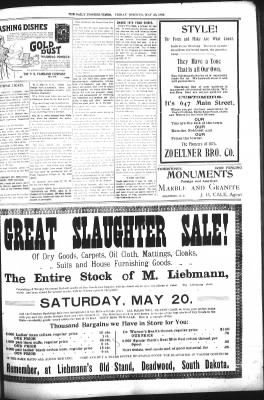 The Daily Deadwood Pioneer-Times from Deadwood, South Dakota on May 26, 1899 · Page 5