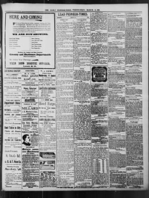 The Daily Deadwood Pioneer-Times from Deadwood, South Dakota on March 9, 1898 · Page 3