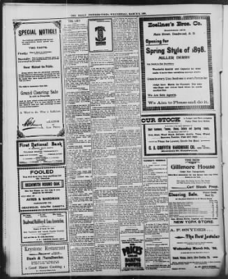 The Daily Deadwood Pioneer-Times from Deadwood, South Dakota on March 9, 1898 · Page 4