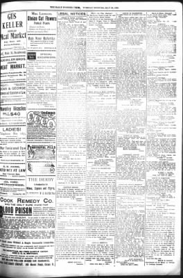 The Daily Deadwood Pioneer-Times from Deadwood, South Dakota on May 30, 1899 · Page 7