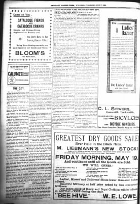 The Daily Deadwood Pioneer-Times from Deadwood, South Dakota on June 7, 1899 · Page 8