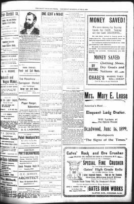 The Daily Deadwood Pioneer-Times from Deadwood, South Dakota on June 8, 1899 · Page 3