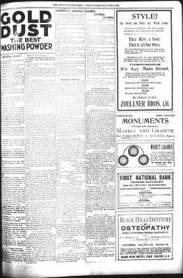 The Daily Deadwood Pioneer-Times from Deadwood, South Dakota on June 9, 1899 · Page 5