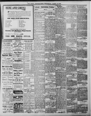 The Daily Deadwood Pioneer-Times from Deadwood, South Dakota on March 30, 1898 · Page 3