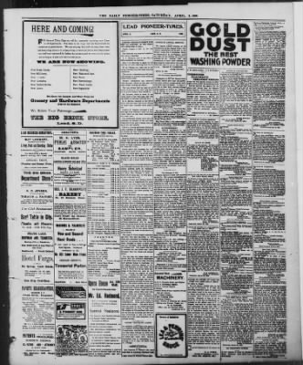 The Daily Deadwood Pioneer-Times from Deadwood, South Dakota on April 2, 1898 · Page 3