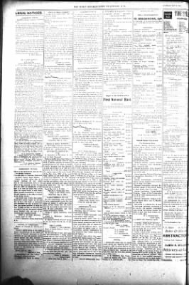 The Daily Deadwood Pioneer-Times from Deadwood, South Dakota on May 8, 1900 · Page 6