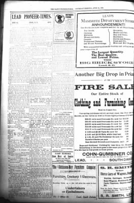 The Daily Deadwood Pioneer-Times from Deadwood, South Dakota on June 15, 1899 · Page 6