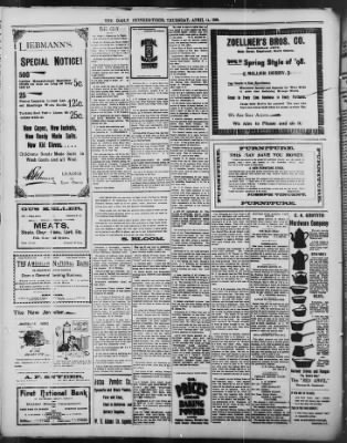 The Daily Deadwood Pioneer-Times from Deadwood, South Dakota on April 14, 1898 · Page 4