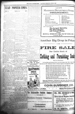The Daily Deadwood Pioneer-Times from Deadwood, South Dakota on June 17, 1899 · Page 6